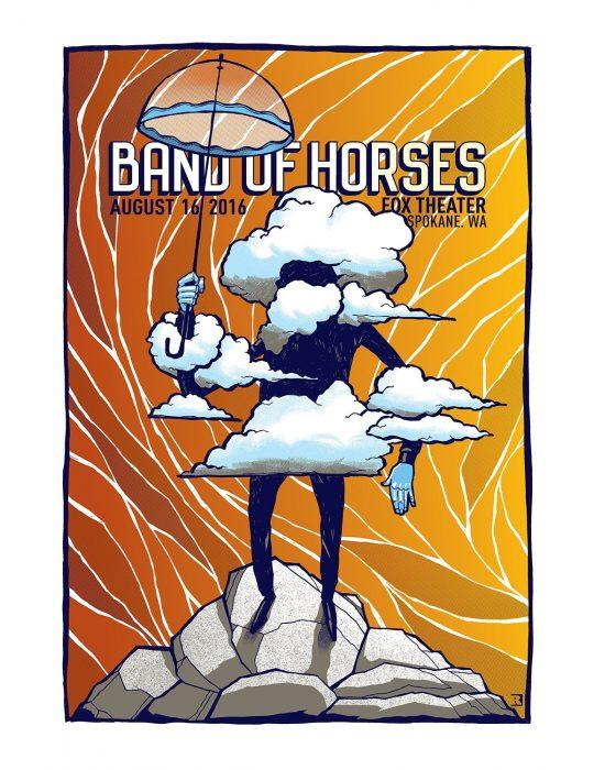 Band of Horses Spokane 8_16_16